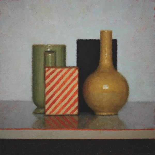 Wonderful still life by Jude Rae - New Zealand artist.