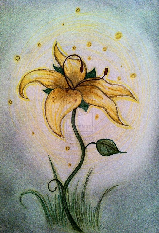 tangled flower tattoo