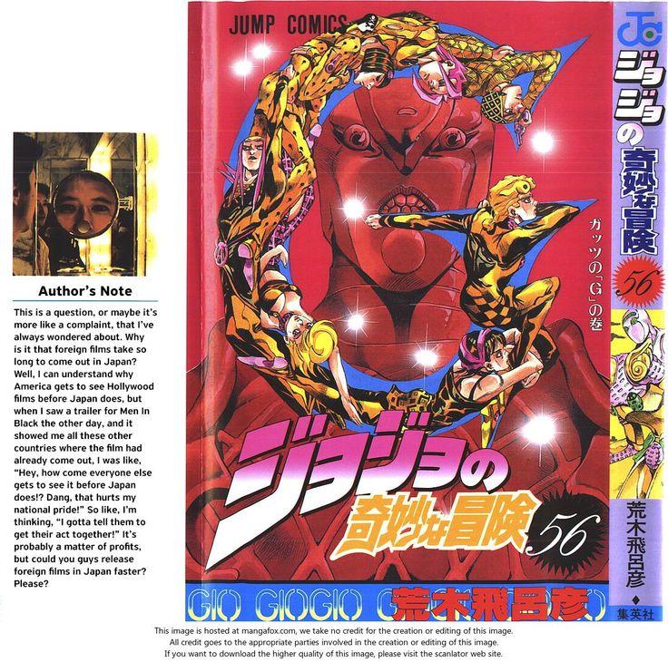 Vento Aureo 518: The Mystery of King Crimson - Part 1 at MangaFox.me