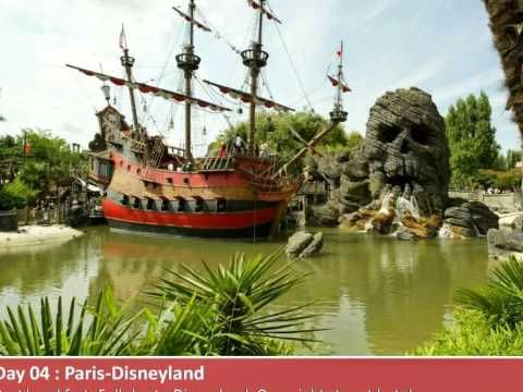 Amsterdam Paris London Holiday Tour Packages