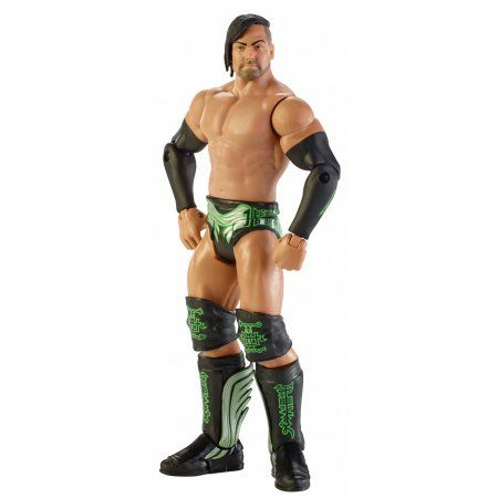 WWE Basic Justin Gabriel Action Figure, Multicolor