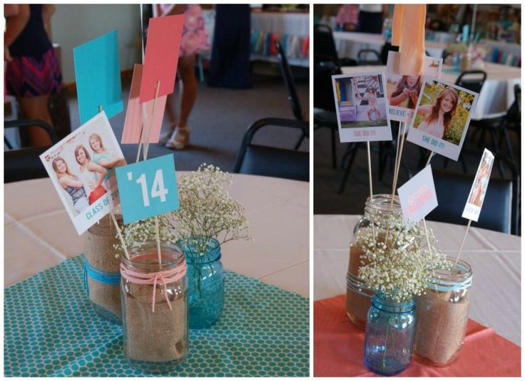 These seniors had a joint graduation party! Read about their unique graduation party ideas! #peartreegreetings #graduationpartyideas #graduation
