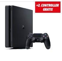 Guter Deal beim Media Markt! Dort bekommt ihr die Sony Playstation 4 SLim 500GB mit einem 2. Controller für 239€ - der geizhals.at Vergleichspreis für die PS4 ohne 2. Controller liegt bei 249€!   #Controller #Konsole #MediaMarkt #Playstation #PS4 #PS4SLim #Sony