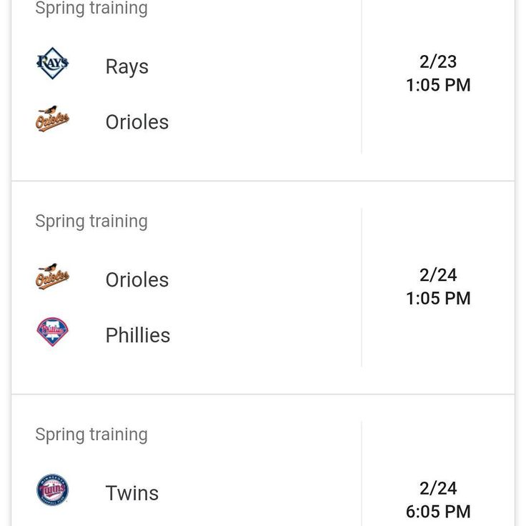 Almost time for spring training #orioles