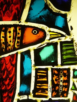 Stuart Low glass painting