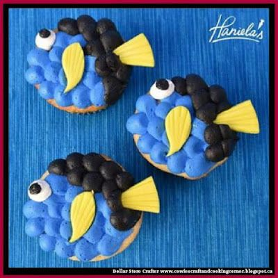 Dollar Store Crafter: Dory Cupcakes