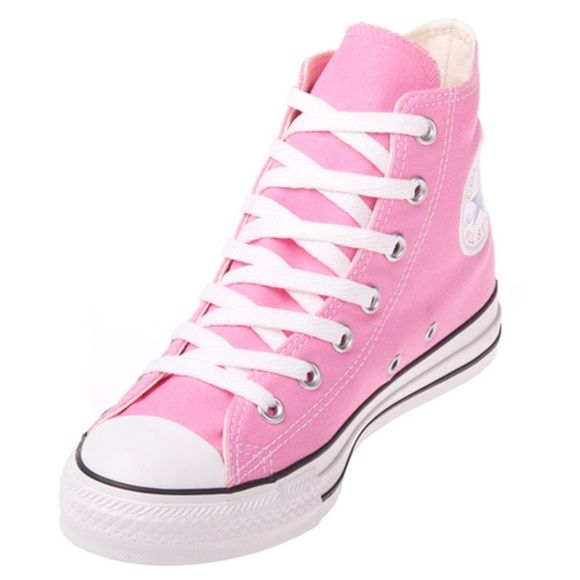 Converse Shoes - Pink High Top Converse! Brand New !!!
