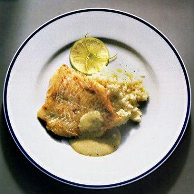 Морской окунь с фенхелем и кисло-сладким рисом рецепт – итальянская кухня: основные блюда. «Афиша-Еда»