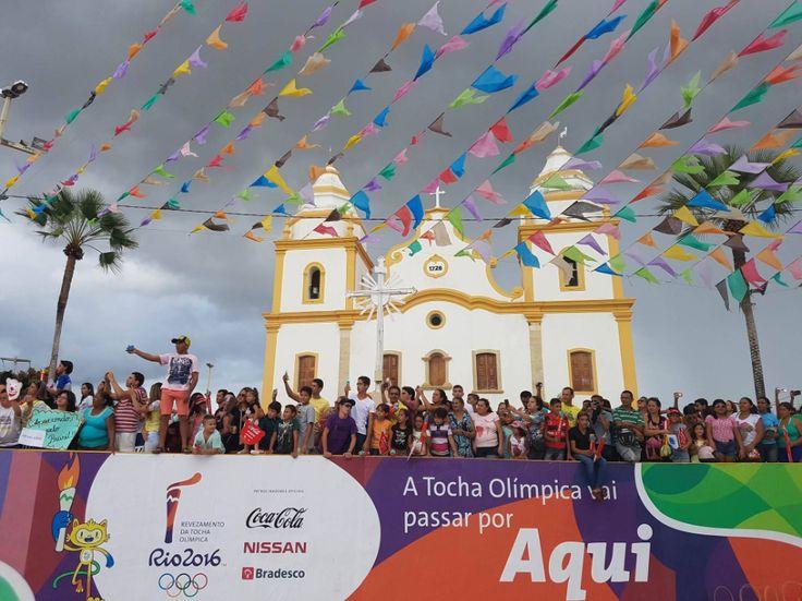 Revezamento da Tocha Olímpica - Rota Rio 2016 e Condutores da Tocha. Assu - RN. 06/06/2016.