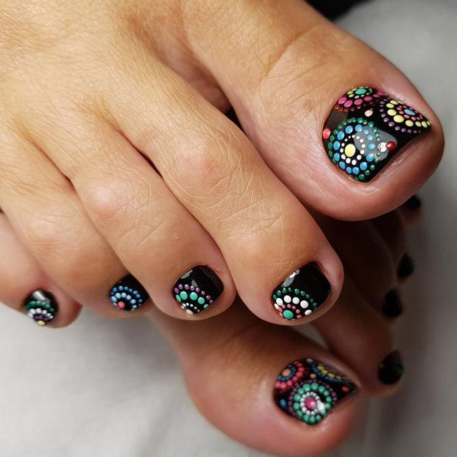 Nail Designs for Toes That Will Make You Feel Zen ★ See more: https://naildesignsjournal.com/nail-designs-for-toes/ #nails #PedicureIdeas