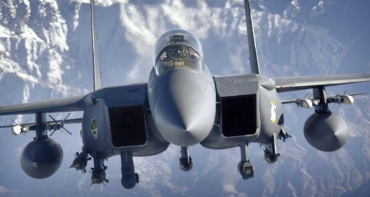 The Aviationist » Gulf War 25th Anniversary: how a U.S. F-15E shot down an Iraqi Mi-24 gunship with a GBU-10 bomb 25 years ago today