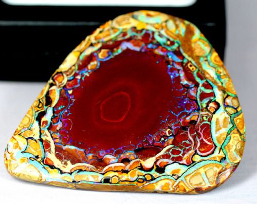 Yowah Nut Opal- Australia                                                                                                                                                                                 More