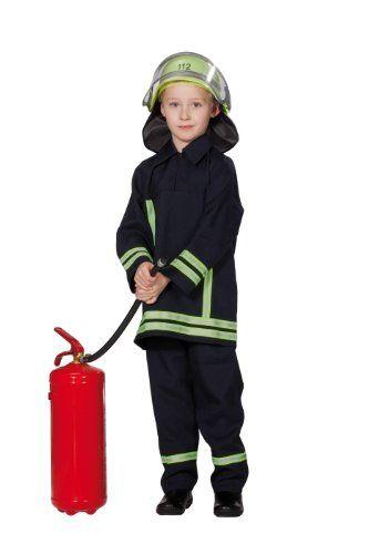 Kinder Feuerwehrmann-Kostüm | ca €25 | Karneval, Halloween & Fasching