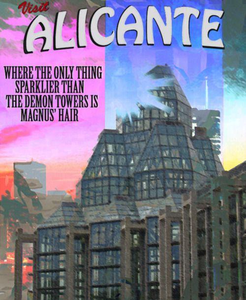visit Alicante Mortal Instruments, Infernal Devices, Cassandra Clare