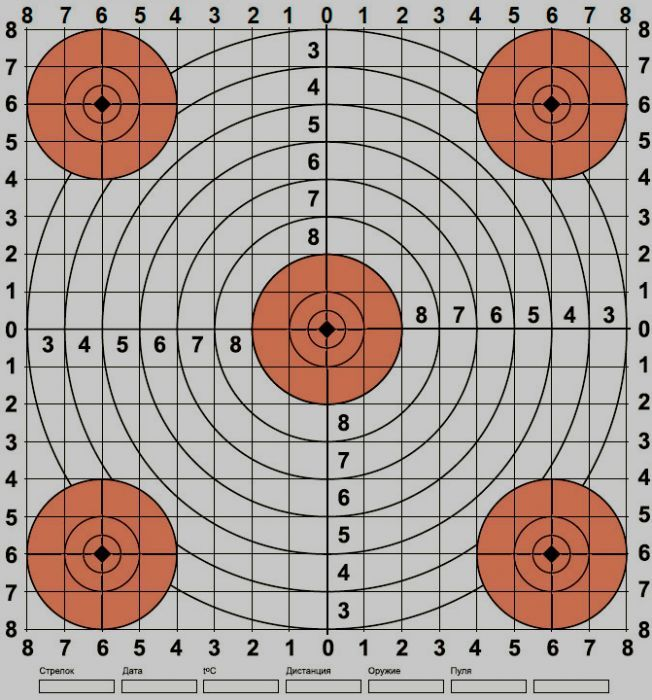 Crafty image for printable shooting targets 11x17
