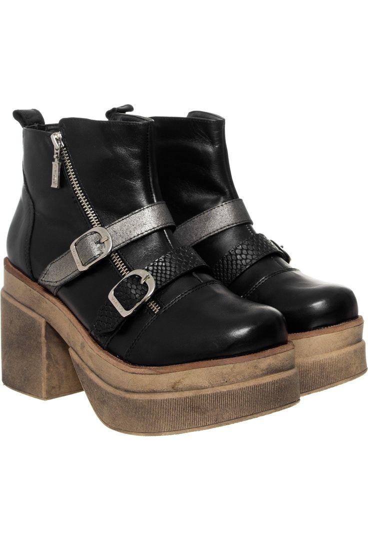 BOTIN ISRAEL NEGRO CÓDIGO 150Z0472-NE0 http://www.guiapurpura.com.ar/viamo #zapatos