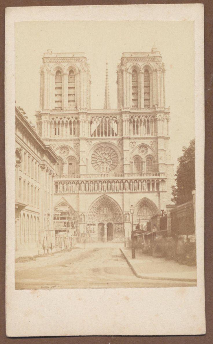 108 best Notre Dame Paris, albumen and images on Pinterest | Old ...