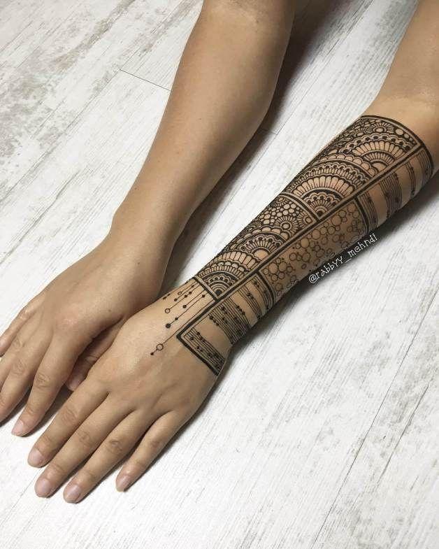 latest Mehndi Designs For arm