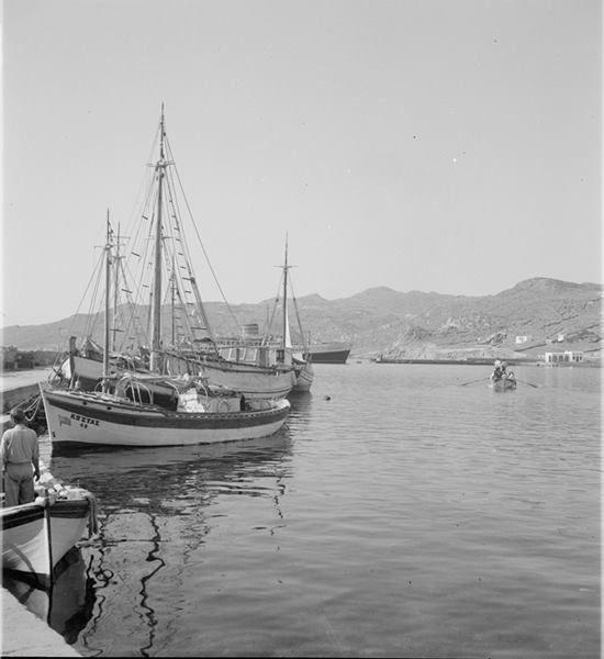 Αρχείο L.H. Jeffery Μύκονος.Λιμάνι