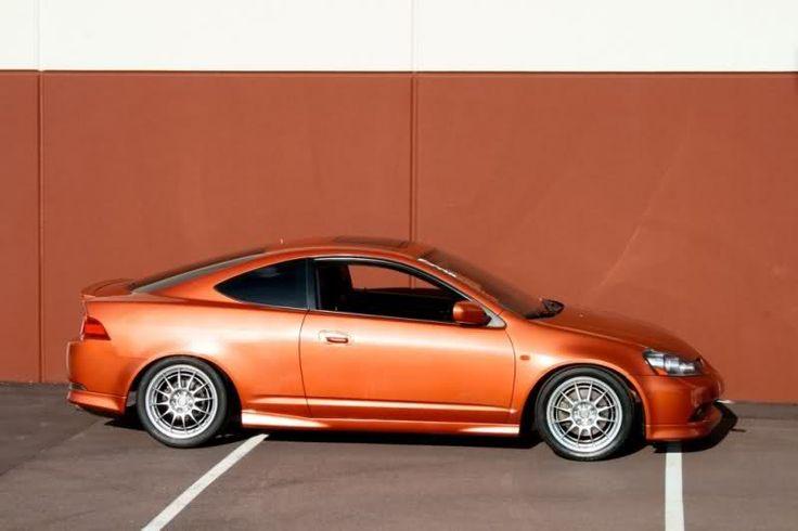 Remy Rounds 2005 Acura Rsx Type S Blaze Orange Metallic Acura Rsx Type S Acura Rsx Acura