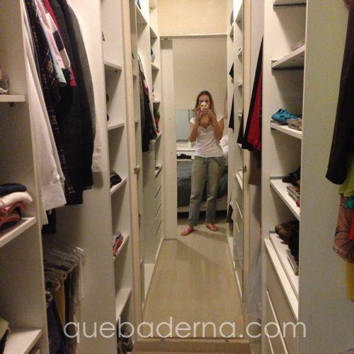 Aproveite todo o espaço disponível no seu closet: Projeto de armários e ideia para um closet pequeno, com fotos do projeto pronto!
