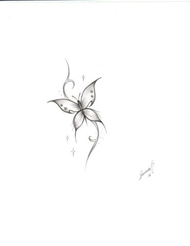 See more Little butterfly tattoos idea