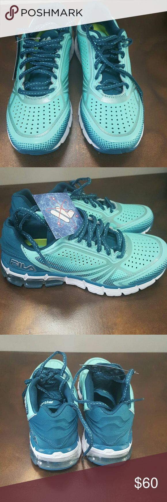 New with tags! Fila sneakers/running shoes. Gorgeous color sneakers, brand new with tags. Comes in original box! Fila Shoes Sneakers