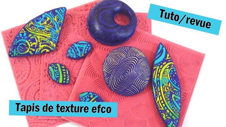 { Revue / Tuto } Tapis de texture efco / sutton slice, mica shift .....