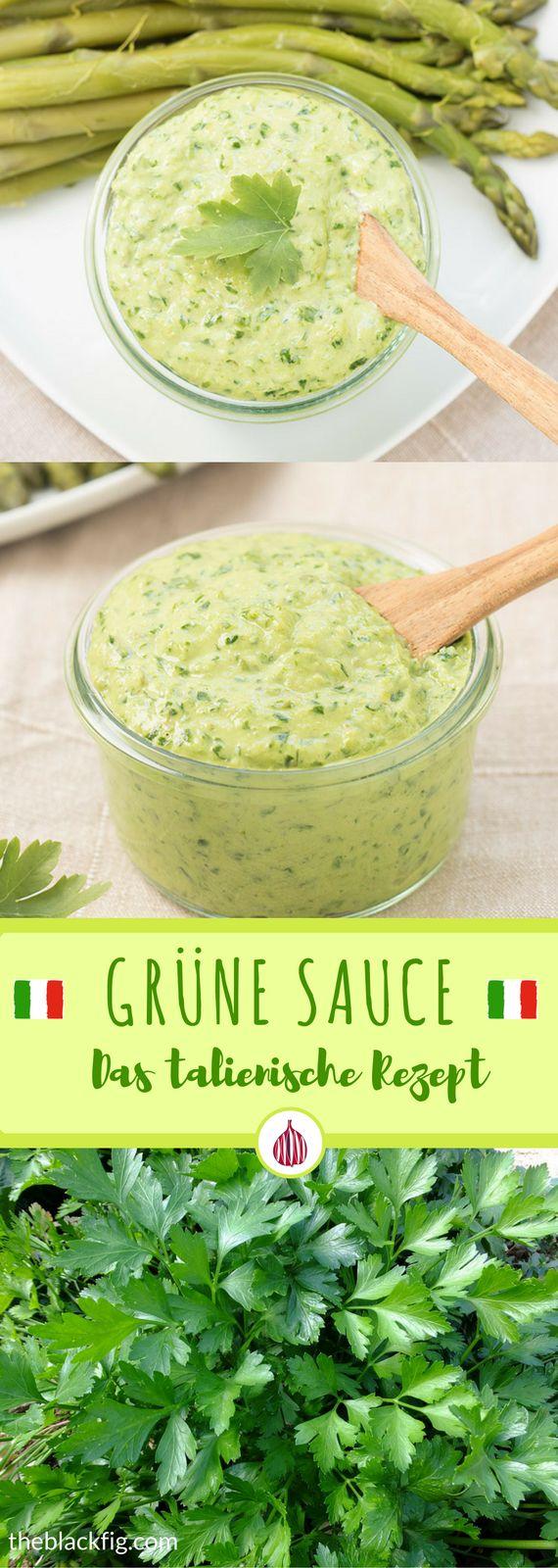 Die grüne Sauce: deutsche vs italienische grüne Sauce. #sauce #italienischkochen