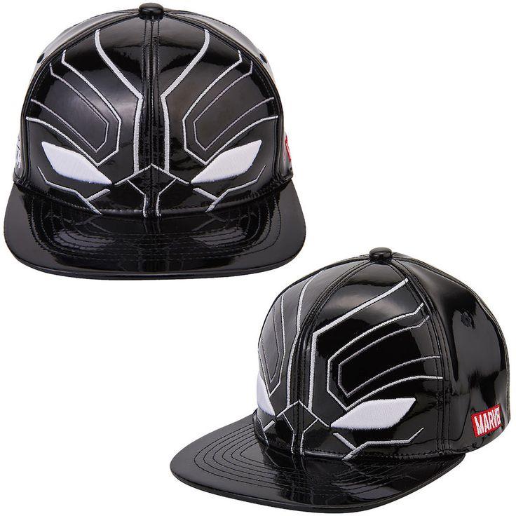 Mens Womens Marvel Avengers Civil War BLACK PANTHER Mask Baseball Snapback Hats #Marvel #BaseballHiphopHatCap