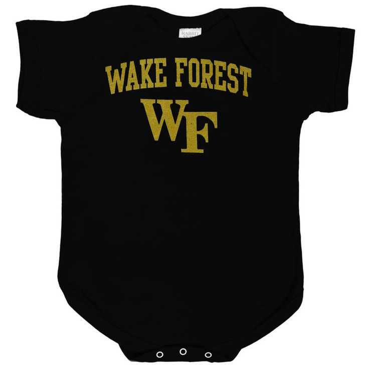 Wake Forest Demon Deacons Unisex Infant Big Fan Bodysuit - Black