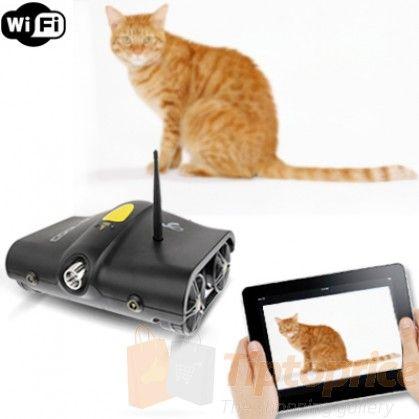 Tanque espía Rover: Wifi AutoControll Wireless  con función vídeo y cámara de fotos (Negro)