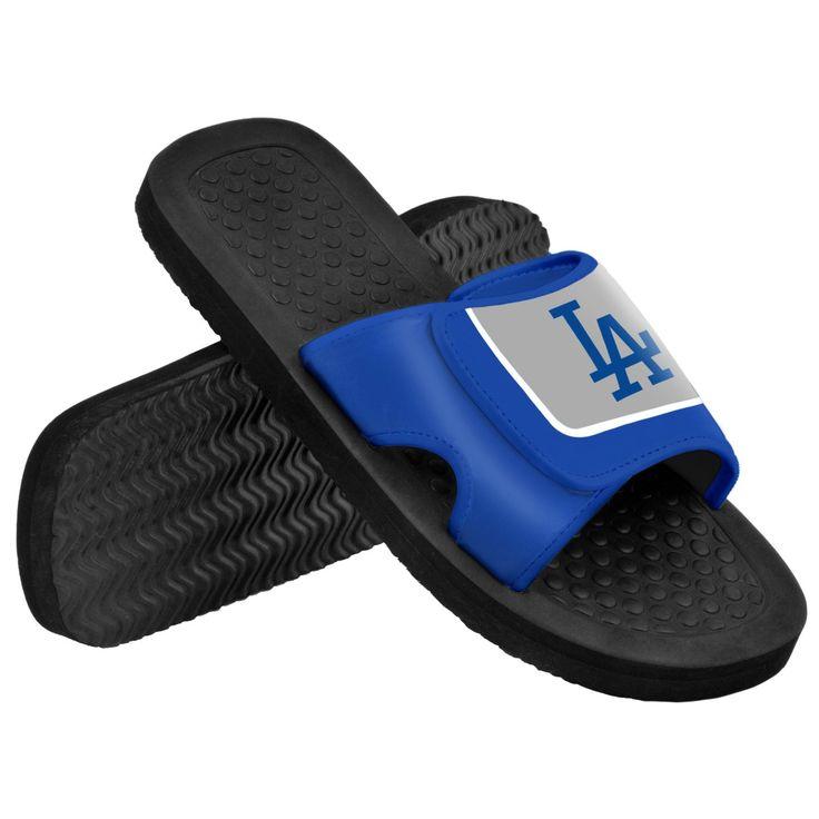 Los Angeles Dodgers MLB Mens Shower Slide Flip Flops