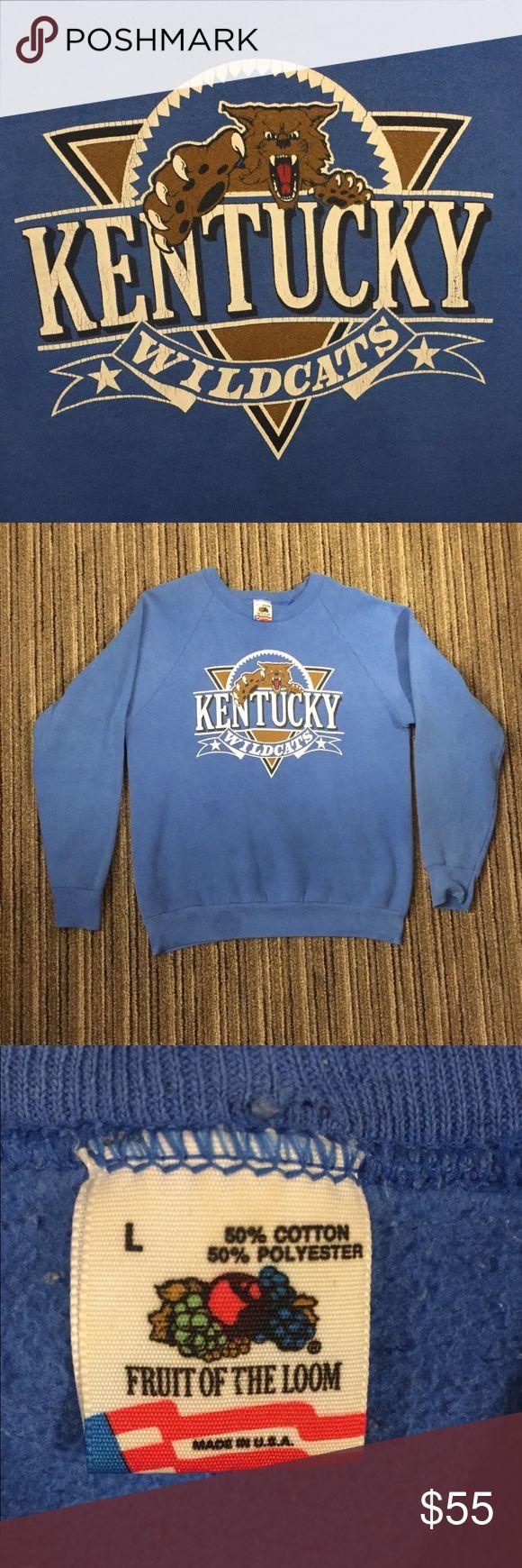 Vintage Kentucky Wildcats Sweatshirt Good condition for