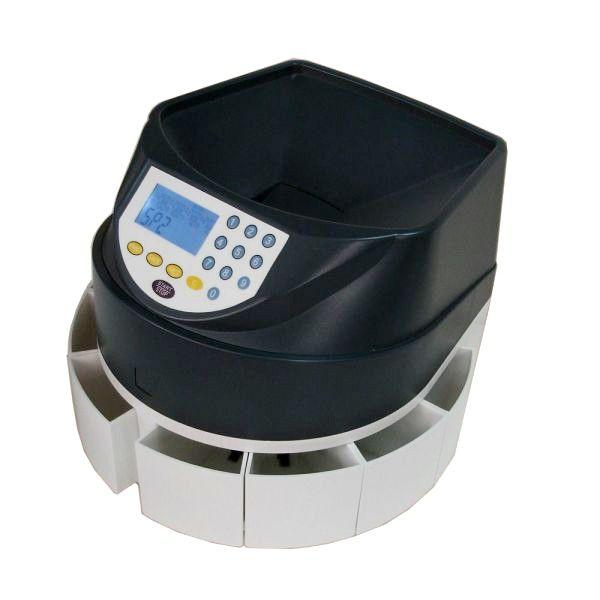 CONTADOR DE MONEDAS - REF: CDP 450: Permite contar, clasificar y almacenar monedas de euro de forma rápida, limpia y eficaz.