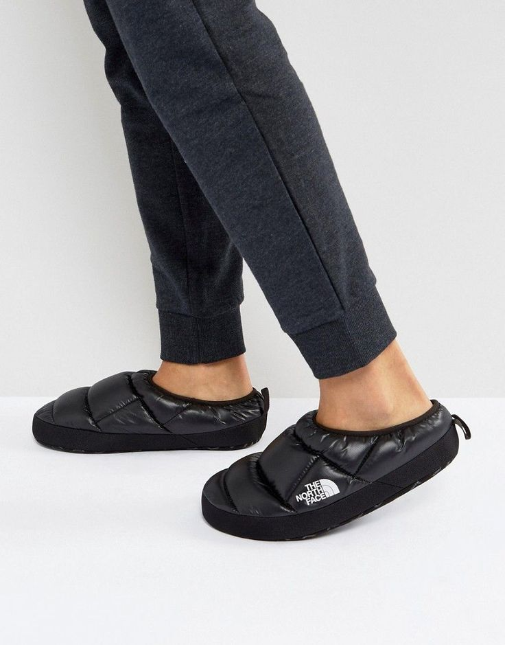 The North Face Tent Mule III Slipper in Shiny Black - Black & The 25+ best North face slippers ideas on Pinterest | Under armour ...