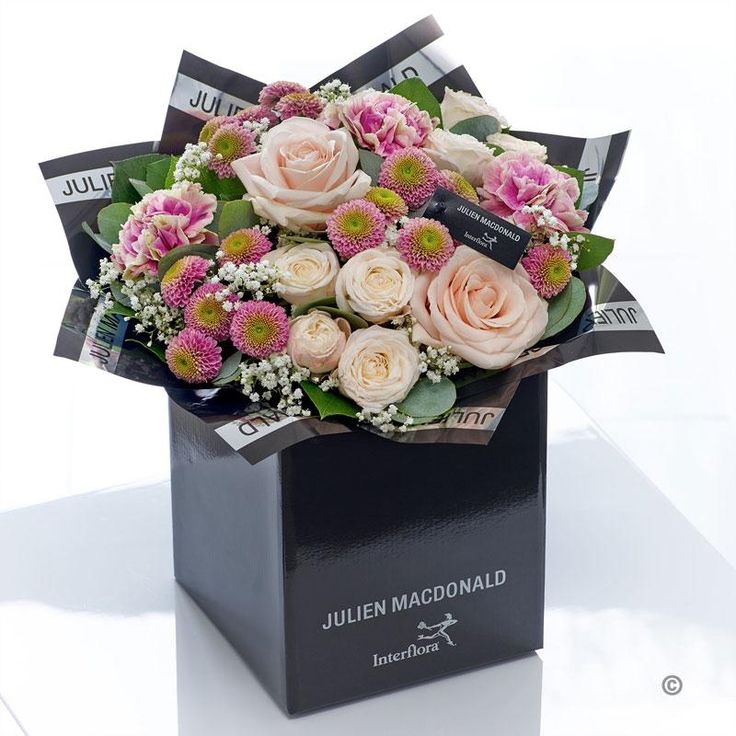 This hand-tied bouquet in glorious warm pink and peach tones has a timeless quality that is particularly captivating. Inspired by the enduring appeal of these classic flower varieties, we've selected the finest quality fresh blooms to create this very feminine, vintage style gift.