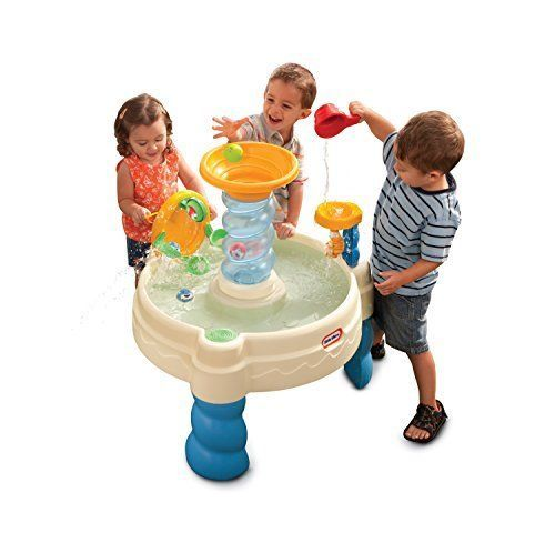 Little Tikes Water Play Table Outdoor Toy Kids Toddler Activity Fun Preschool #LittleTikes