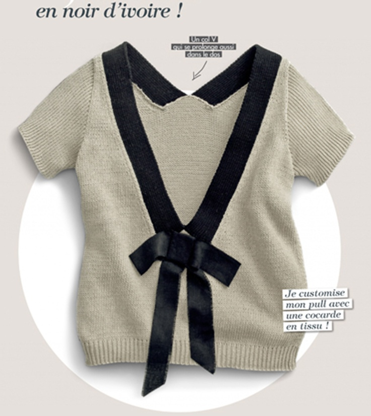 Phildar 50 (French knitting/crochet magazine, Spring/Summer 2011)