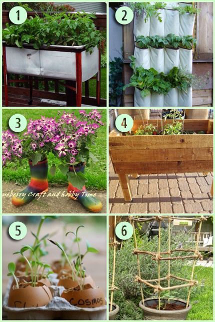 6 Creative Gardening Projects | Home and Garden | CraftGossip.com