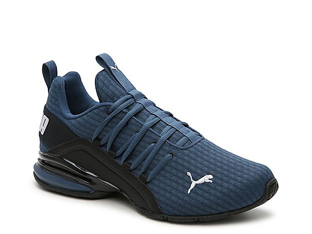 Puma Axelion Block Sneaker - Men's | Mens leather boots, Sneakers ...