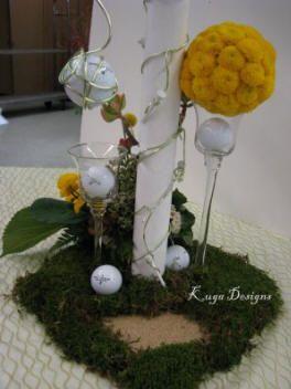 26 best golf themed wedding centerpiece images on pinterest golf theme wedding reception junglespirit Images