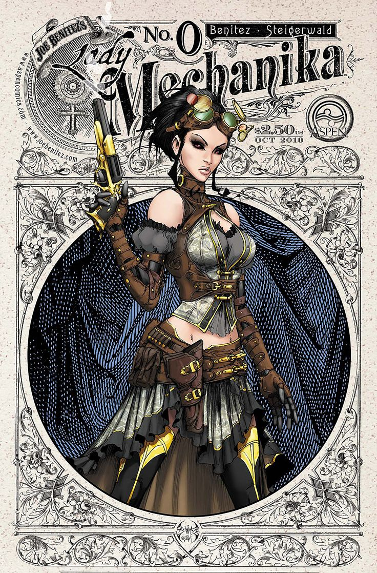 Lady Mechanika... in a skirt on this one