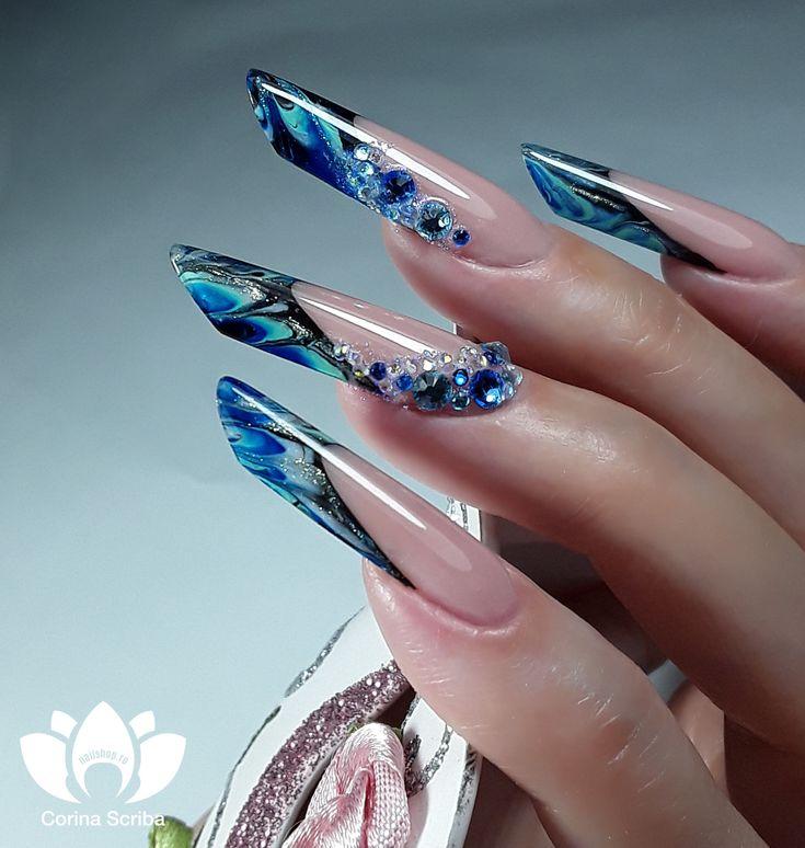 #gorgeous #nails #nailart #nailartist #welovenails #2MBeauty #nailshop.ro