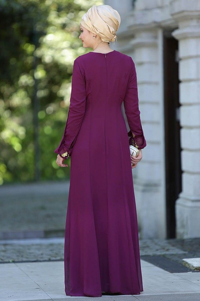 Nayla Collection - Evening Dress - 421MU - Thumbnail
