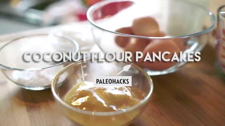 How to Make Paleo Coconut Flour Pancakes
