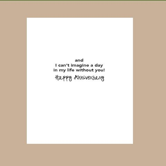 First Wedding Anniversary Card 1st Wedding by DaizyBlueDesigns