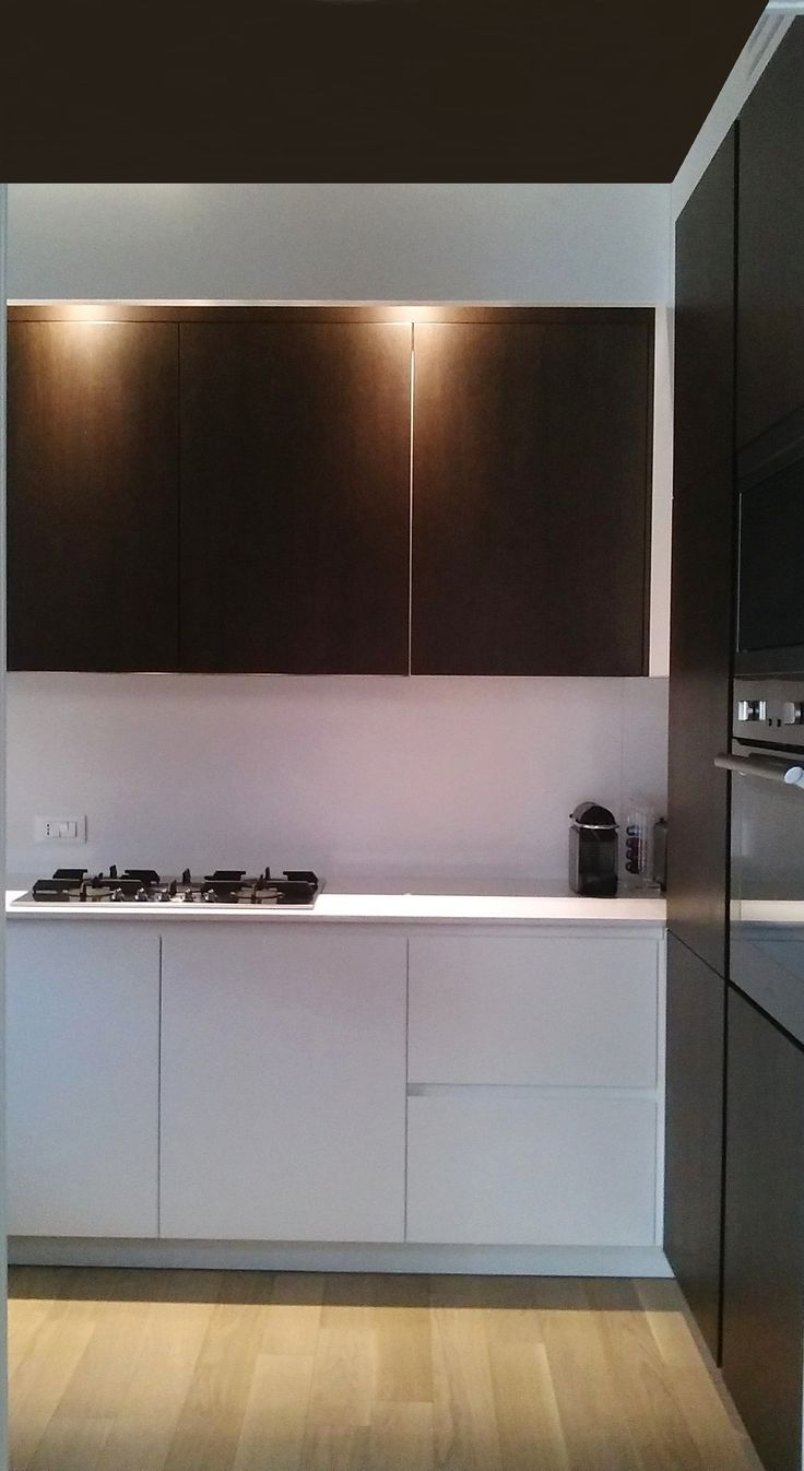 Cucina in rovere su progetto arch. Piera Morseletto