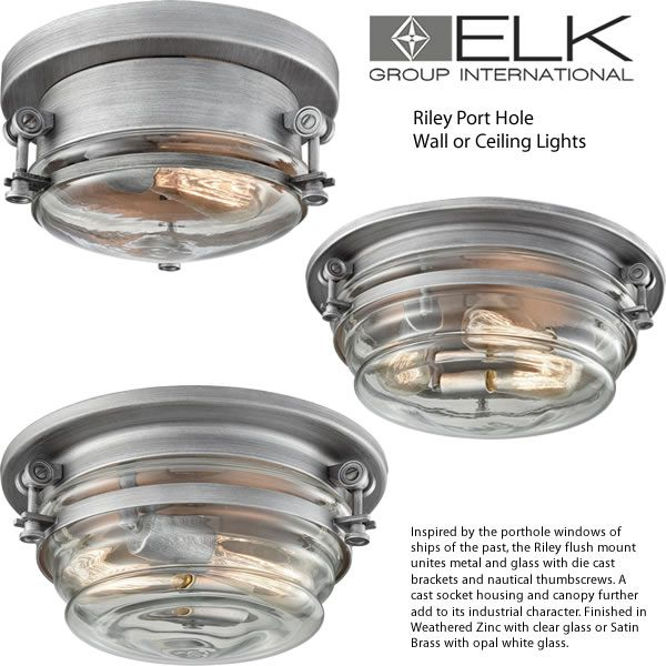 Port Hole Wall Or Ceiling Lights