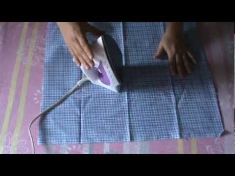 Como estampar e.v.a com tecido (Ateliê Fran E.V.Artes)